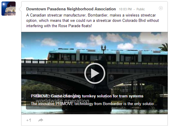 Bombardier Primove Wireless Electric Streetcar