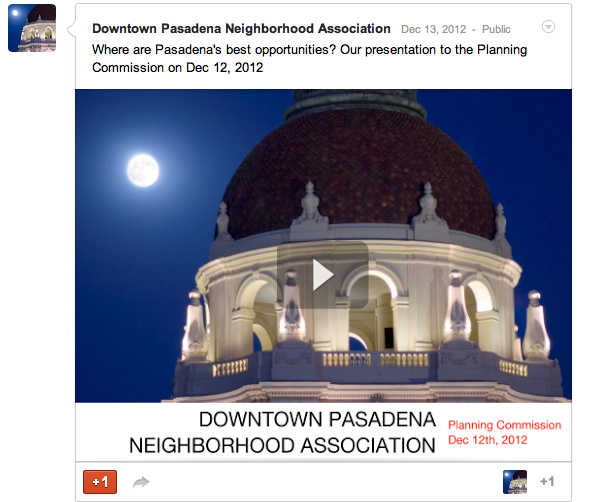 Pasadena's Best Opportunities: South Fair Oaks and Downtown Infill