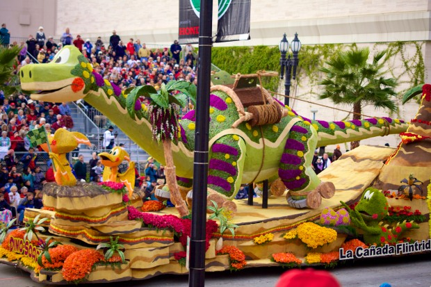 City of La Cañada Flintridge - 2013 Rose Parade float entry