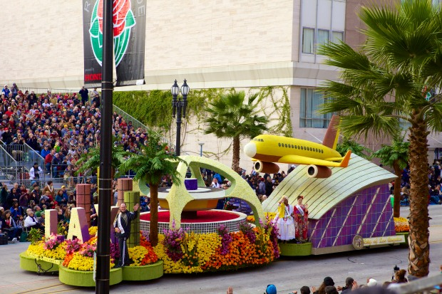City of Los Angeles - 2013 Rose Parade float entry