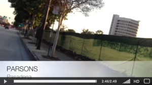 Video: A Bicyclist's View of District 3 & 5 Streets. Marengo Ave and the 210 Freeway; Orange Grove and North Fair Oaks.
