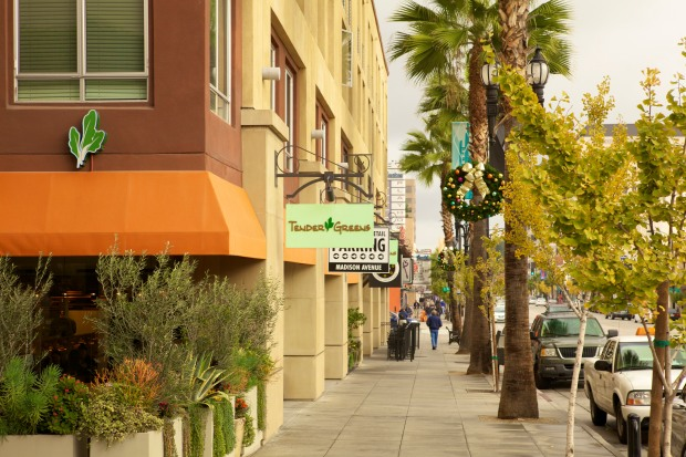 Downtown residents love the ability to walk to the great new restaurants that are choosing to locate in Downtown Pasadena because of its walkable vitality and unique identity. Tender Greens, Settebello, Blaze Pizza, Abricott, Trattoria Neapolis, Vertical Wine Bistro.... the list goes on!