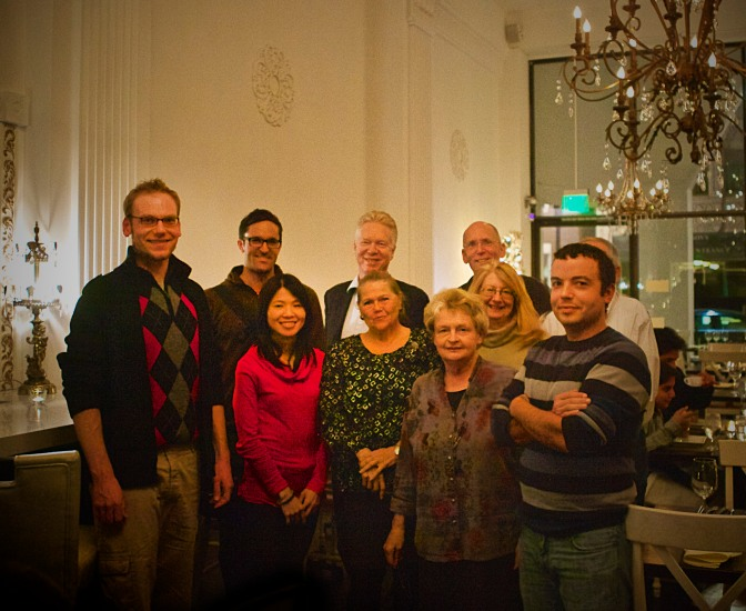 DPNA Holiday celebration, Dec 2012--DPNA Board of Directors (Partial).