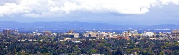 View of Downtown Pasadena from the Art Center College of Design