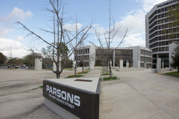 "The Parsons Headquarters is surrounded by wast swaths of OPPORTUNITY (otherwise known as ""parking lots"")."