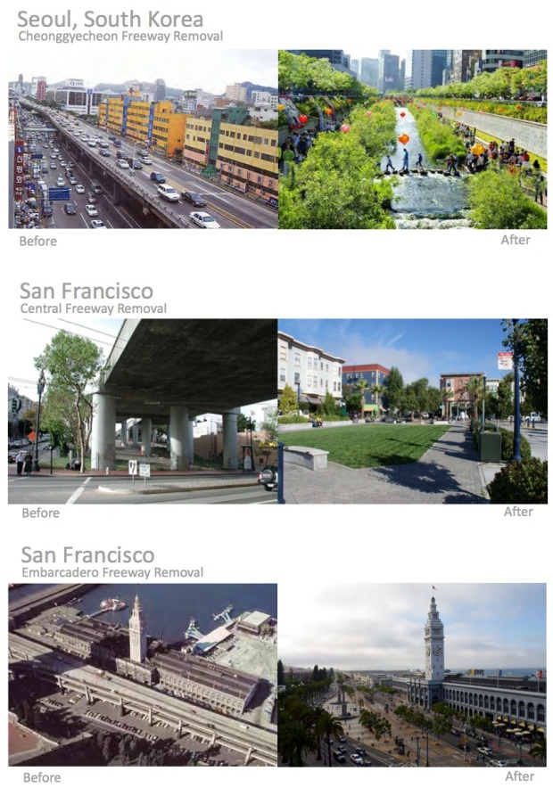Other freeway removal projects